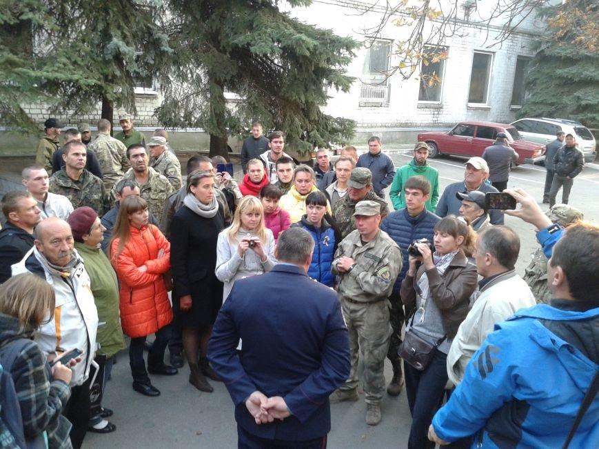 Патриотические силы Павлограда заявляют о репрессиях и призывают уволить начальника горотдела милиции, фото-3