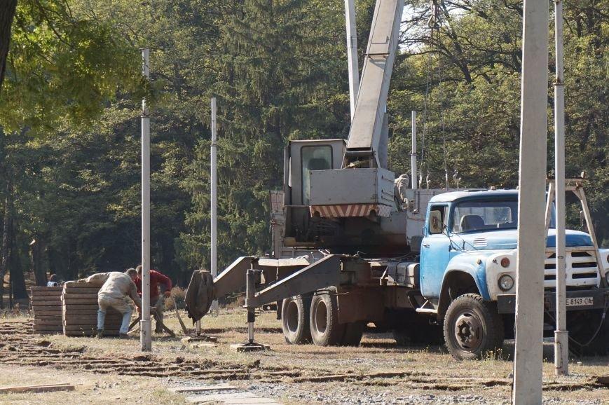 Заместитель мэра пообещал провести реконструкцию парка Героев за минимально возможную сумму (ФОТО) (фото) - фото 1