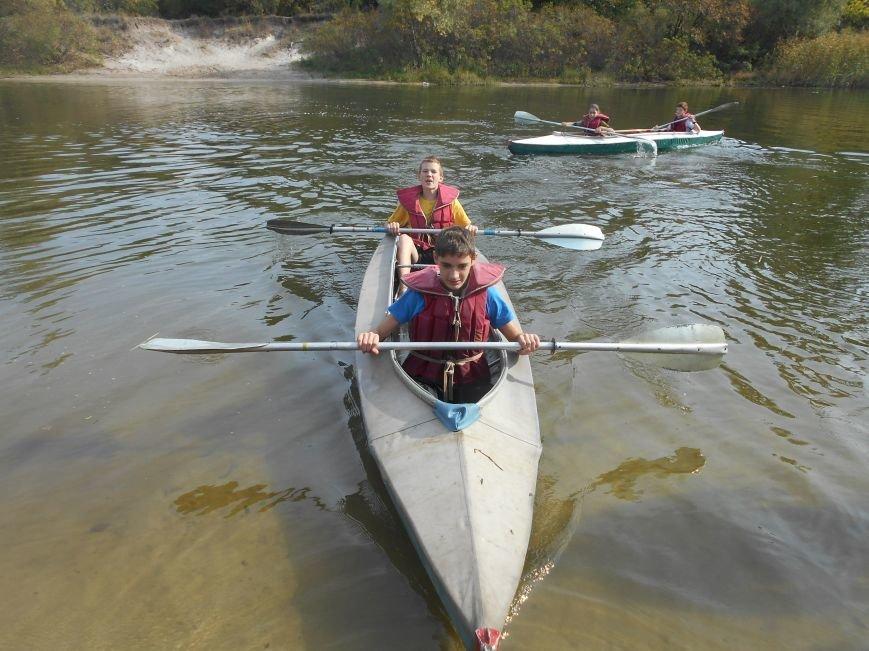 Днепродзержинские школьники выступили на соревнованиях по водному туризму (фото) - фото 6