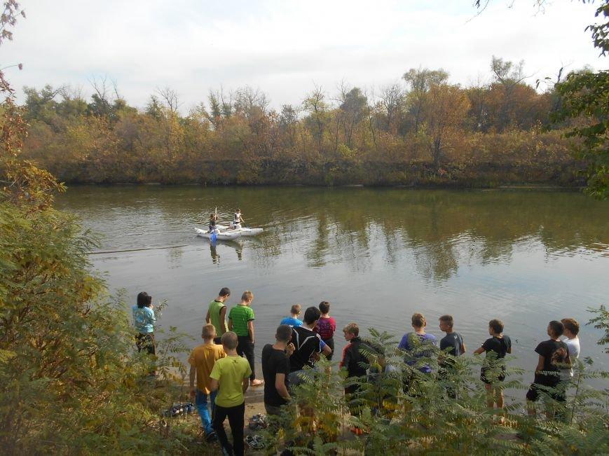 Днепродзержинские школьники выступили на соревнованиях по водному туризму (фото) - фото 2