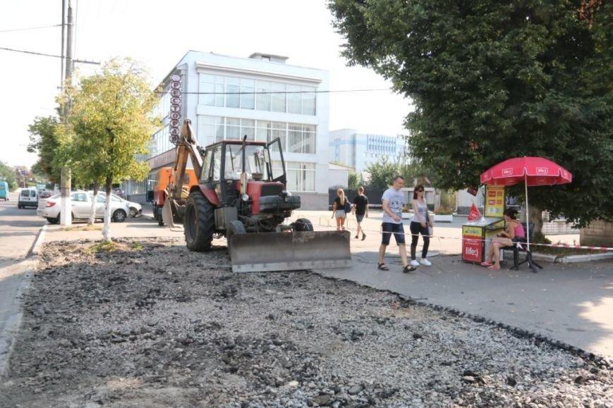 Ремонт тротуаров1