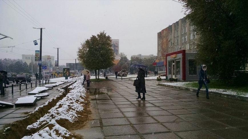 У Львові випав перший сніг (ФОТО), фото-5