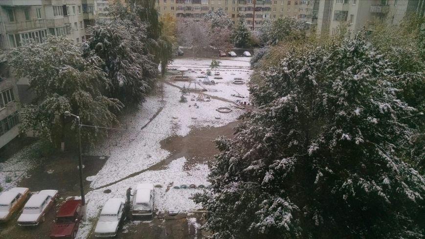 У Львові випав перший сніг (ФОТО), фото-1