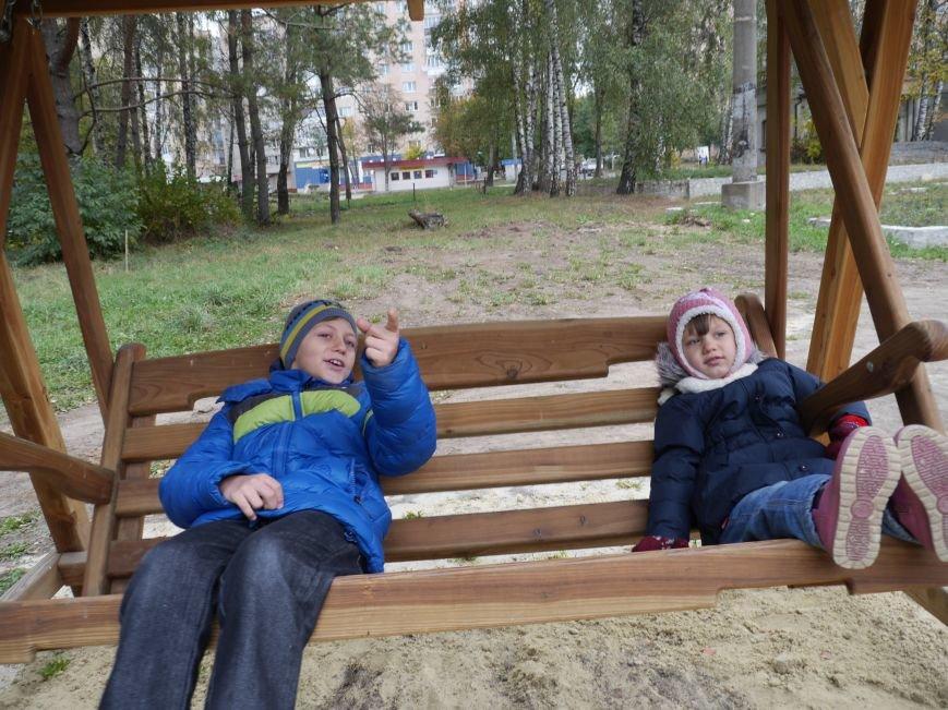 """Агрохолдинг """"МРІЯ"""" встановлює на Тернопільщині десять дитячих майданчиків (фото) - фото 1"""