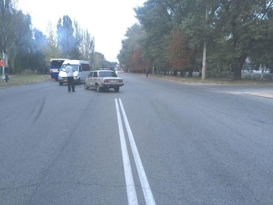 ДТП в Днепропетровске: «Жигуль» столкнулся с маршруткой (ФОТО), фото-3