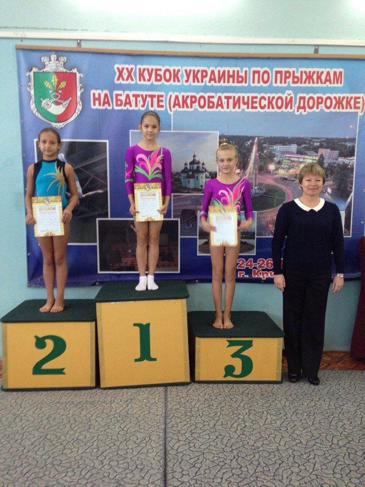 Днепродзержинцы успешно выступили на Чемпионате области по прыжкам на акробатической дорожке (фото) - фото 4