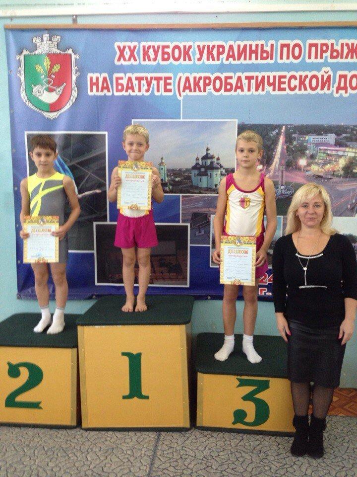 Днепродзержинцы успешно выступили на Чемпионате области по прыжкам на акробатической дорожке, фото-5