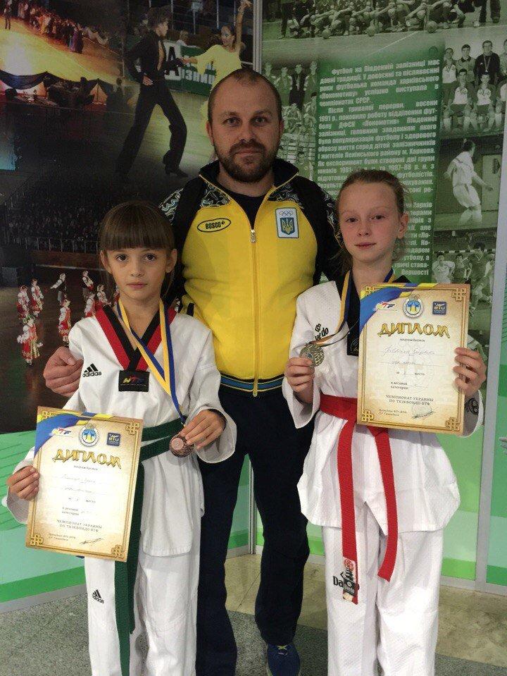 Днепродзержинские тхеквондисты стали призерами чемпионатов Украины (фото) - фото 4