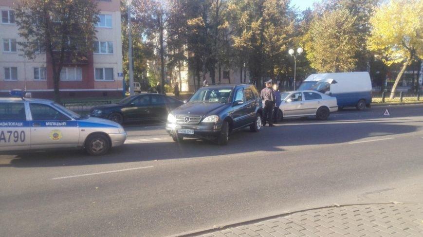 Фотофакт: на улице Молодежной в Новополоцке произошло ДТП, фото-2