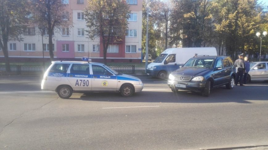 Фотофакт: в Новополоцке произошло небольшое ДТП (фото) - фото 1