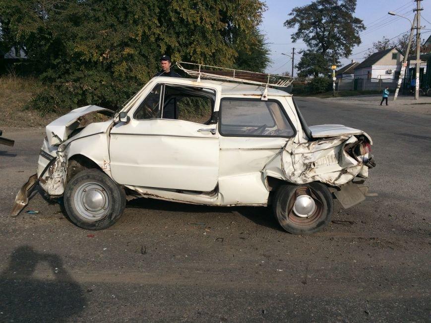 ДТП в Днепропетровске: столкнулись «ЗАЗ» и «Скания» (ФОТО), фото-3