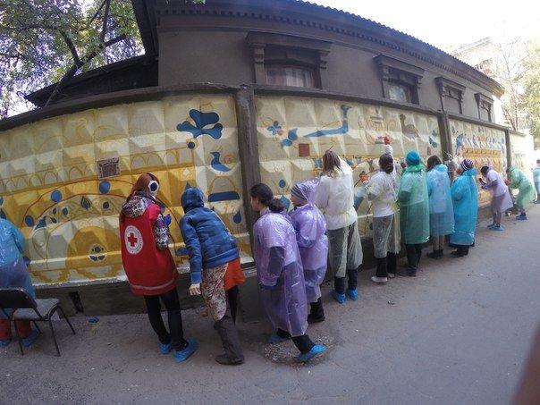 В Харькове прошел фестиваль стрит-арта «Знаки мира» (фото) - фото 1