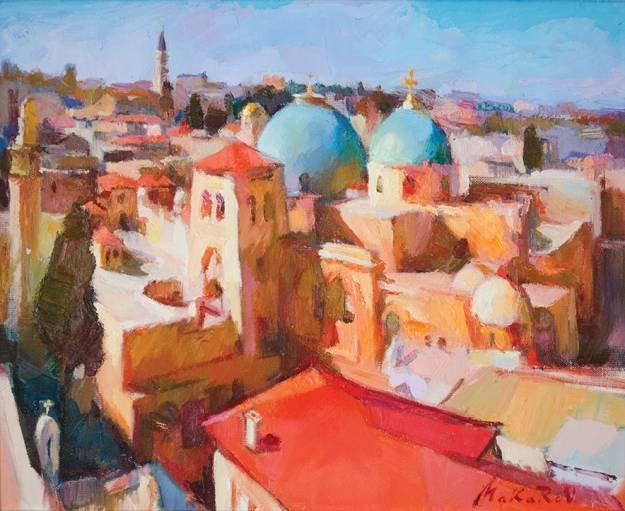 Выставка израильских художников открылась в Чернигове (фото) - фото 1