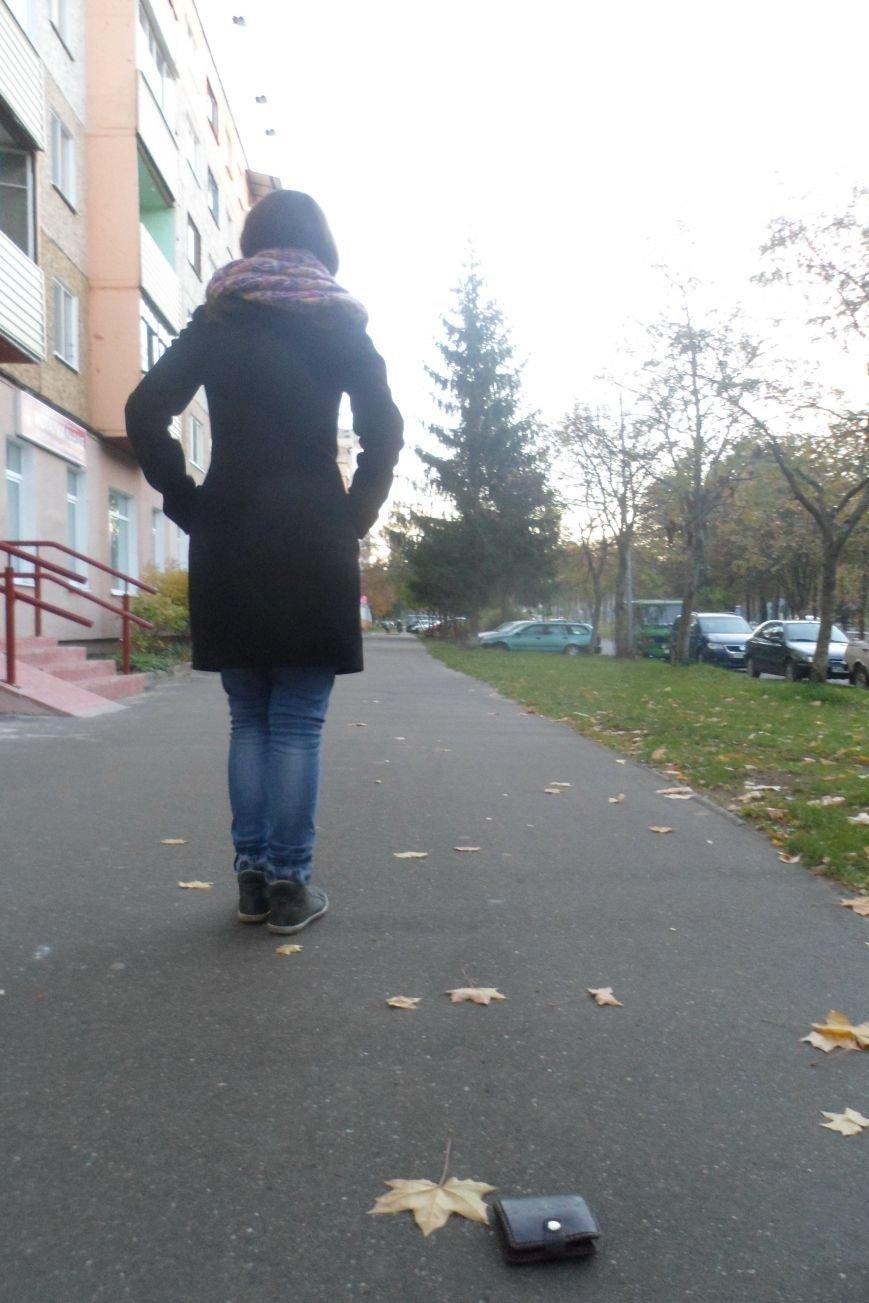 Эксперимент: Пройти, забрать или отдать? или Как Даша-растеряша теряла кошелек в Новополоцке, фото-2