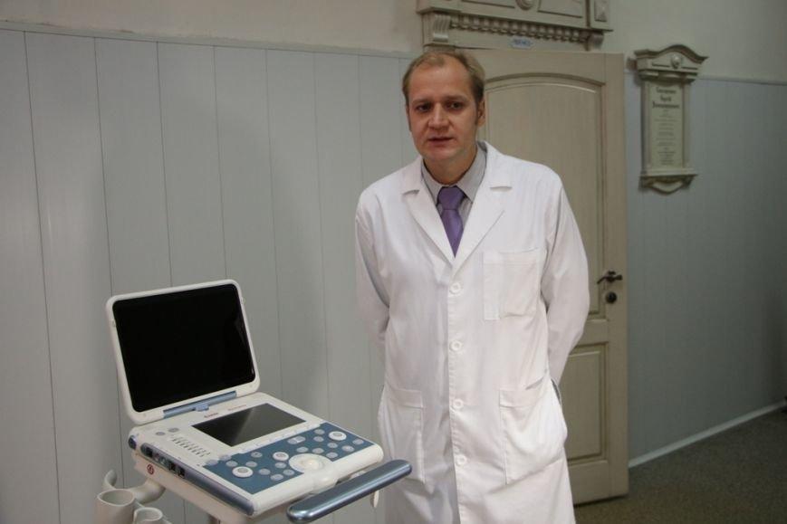 Борис Филатов вместе с Фондом обороны страны передали горбольнице №2 современную систему ультразвуковой диагностики (фото) - фото 1