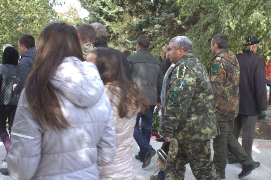 В Днепродзержинске почтили память павших защитников Украины (фото) - фото 12