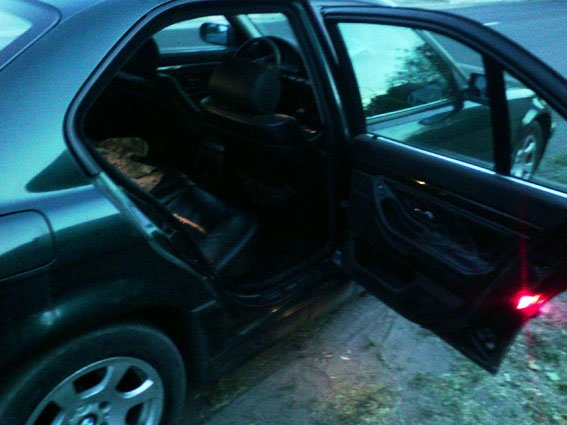 В  незарегистрированном BMW  мариупольца милиция обнаружила боеприпасы (фото) - фото 2
