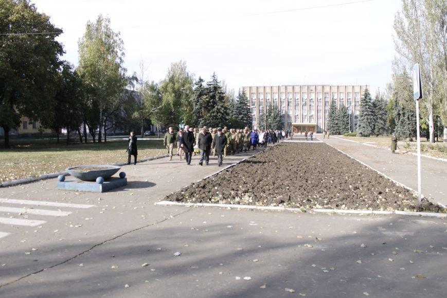 В Доброполье праздничным шествием отметили День защитника Украины (ФОТО), фото-7