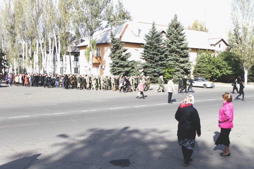 В Доброполье праздничным шествием отметили День защитника Украины (ФОТО), фото-8