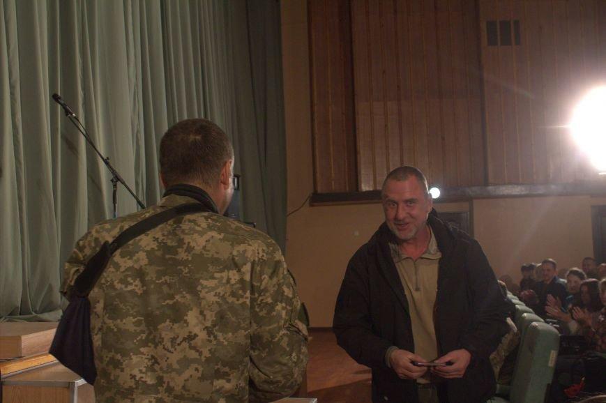 В Днепродзержинске состоялся праздничный концерт «Слався, військо українське!», фото-17