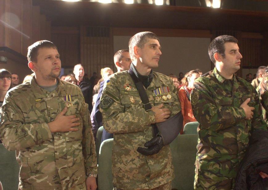 В Днепродзержинске состоялся праздничный концерт «Слався, військо українське!», фото-4