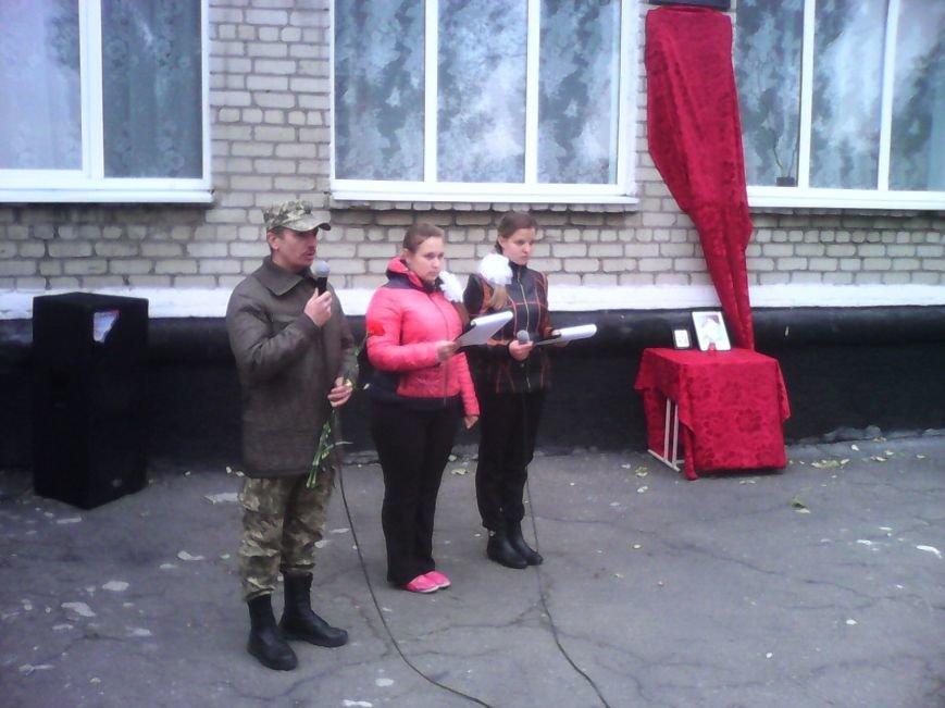 Бойцу 17-й танковой бригады Василию Денисюку, погибшему во время боевой операции под Троицким, открыли памятную доску (ФОТО), фото-6