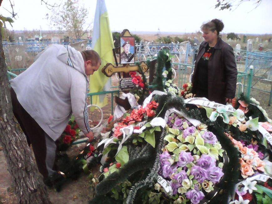 Бойцу 17-й танковой бригады Василию Денисюку, погибшему во время боевой операции под Троицким, открыли памятную доску (ФОТО), фото-12