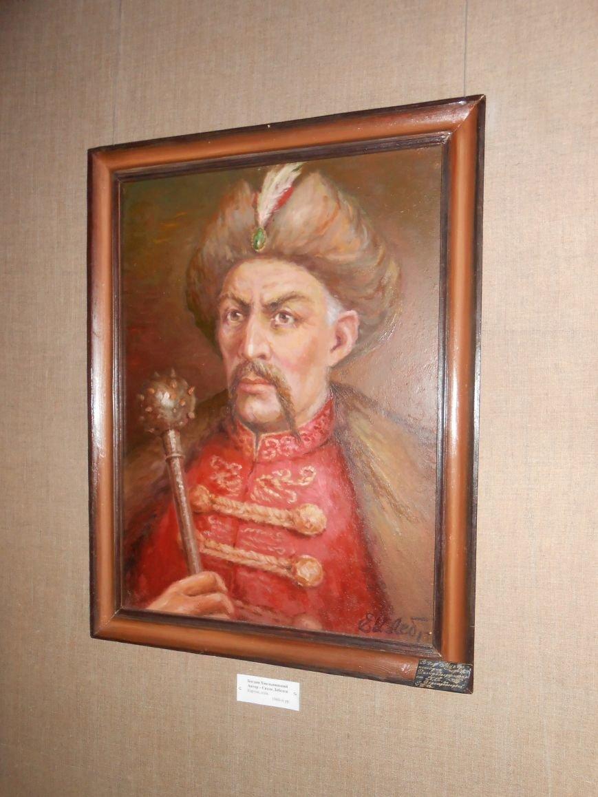 В Музее истории Днепродзержинска открылась выставка «Тiї слави козацької повік не забути!» (фото) - фото 7