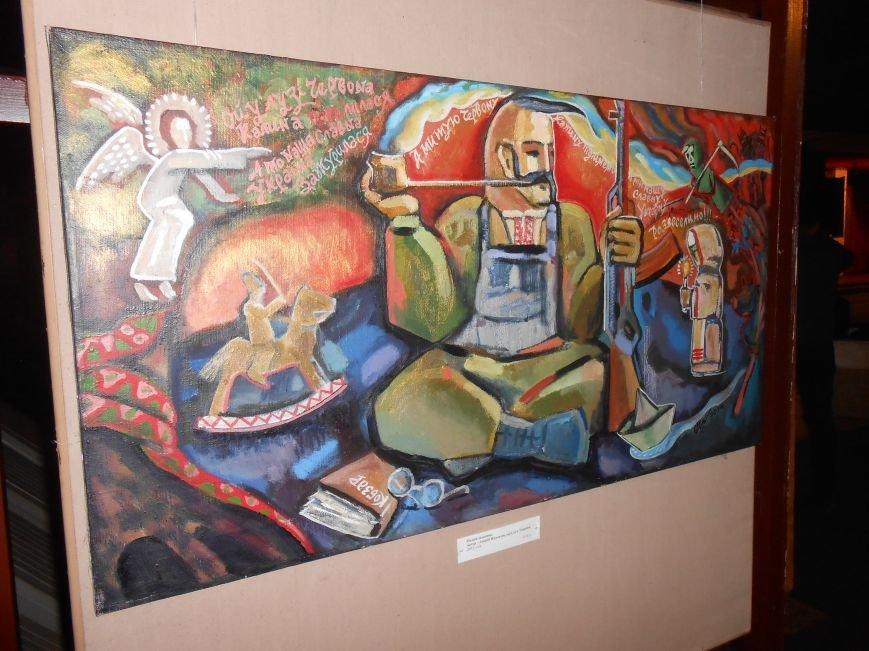 В Музее истории Днепродзержинска открылась выставка «Тiї слави козацької повік не забути!» (фото) - фото 4