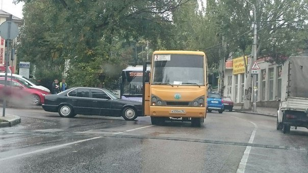 В Севастополе начался сезон «дождливых» ДТП (ФОТО, ВИДЕО) (фото) - фото 1