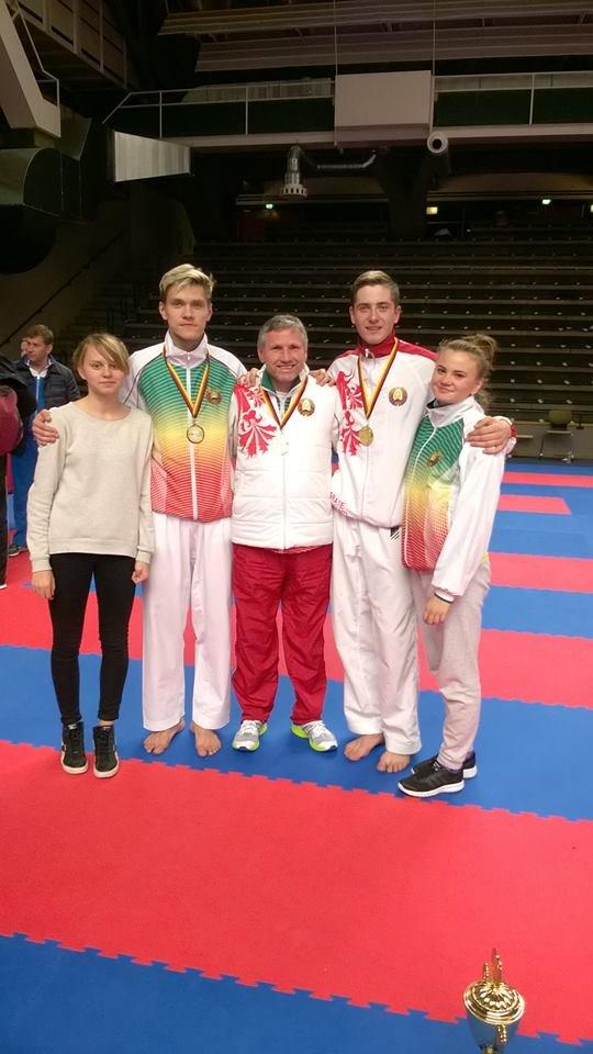 Воспитанники новополоцкой школы каратэ посетили соревнования в Берлине (Германия), фото-3