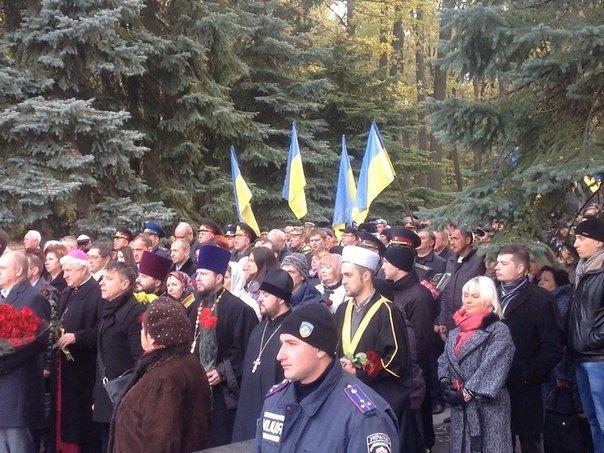 Харьковчане почтили память Защитников Украины, фото-3