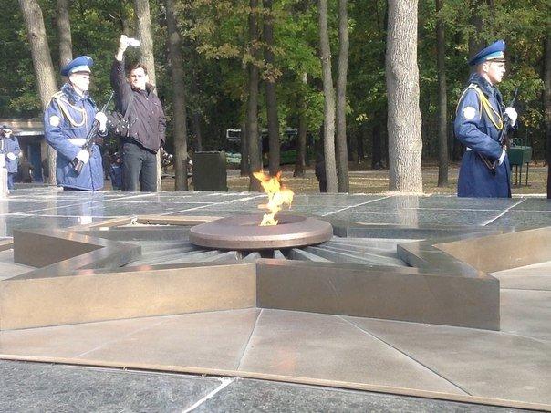 Харьковчане почтили память Защитников Украины, фото-5