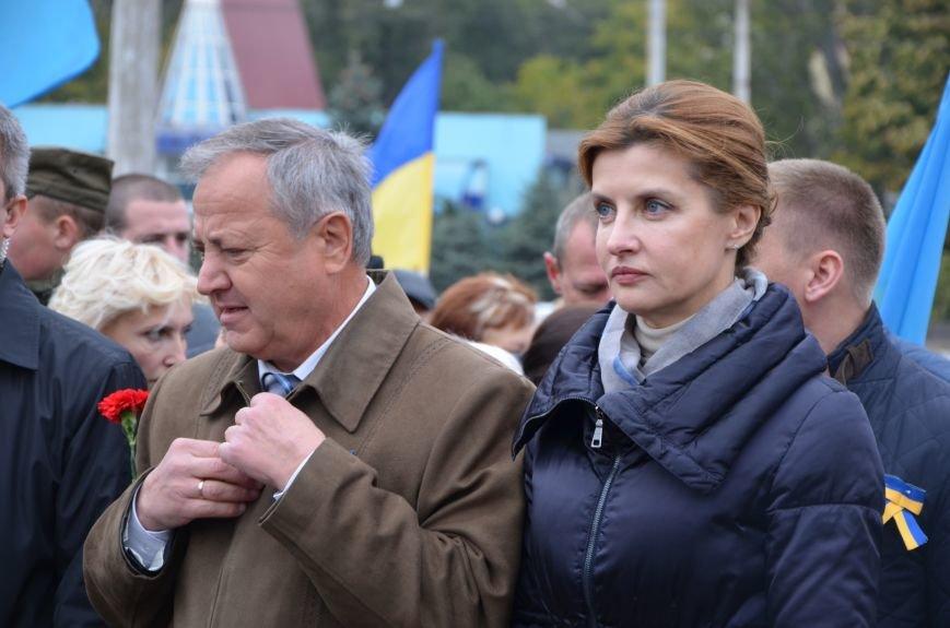 В День защитника Украины Мариуполь посетила первая леди (ФОТО+ВИДЕО), фото-11