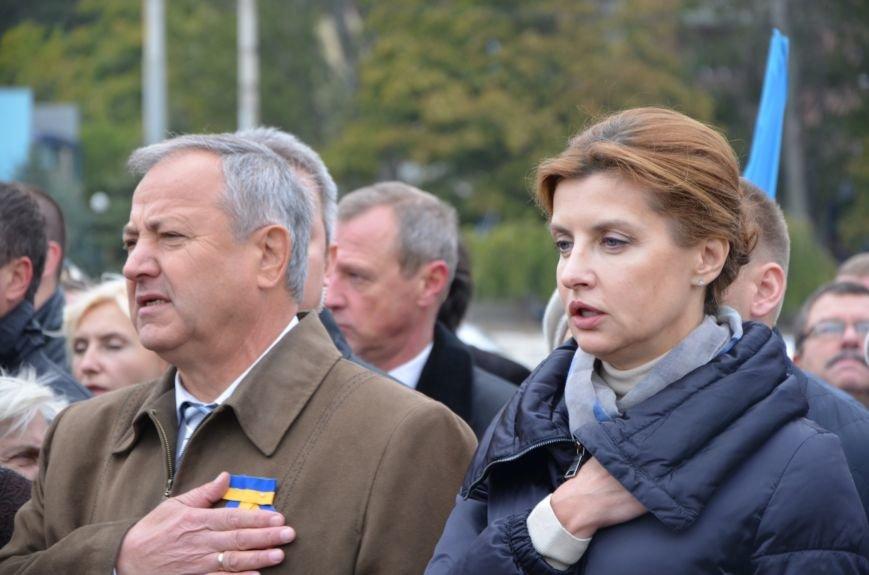 В День защитника Украины Мариуполь посетила первая леди (ФОТО+ВИДЕО), фото-13