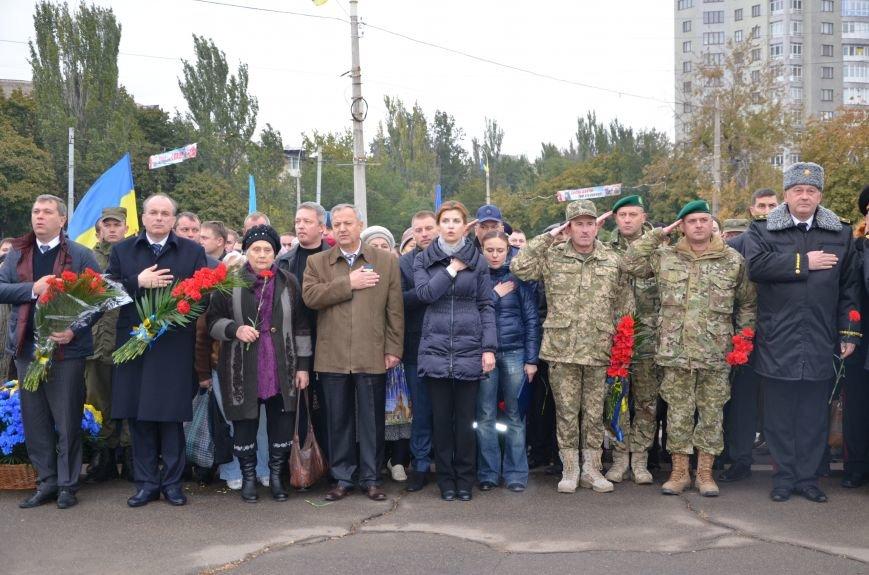 В День защитника Украины Мариуполь посетила первая леди (ФОТО+ВИДЕО), фото-15