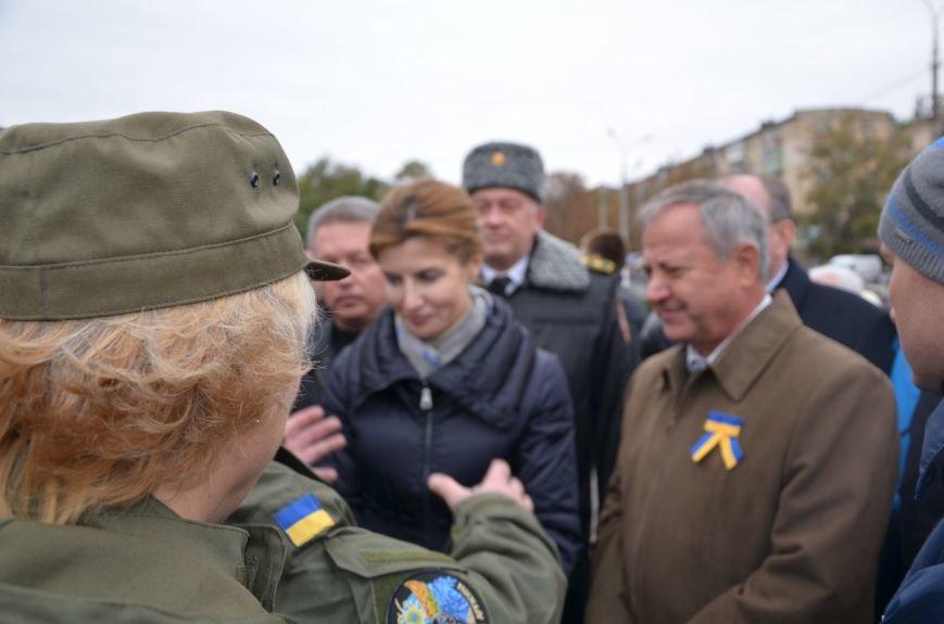 В День защитника Украины Мариуполь посетила первая леди (ФОТО+ВИДЕО), фото-33