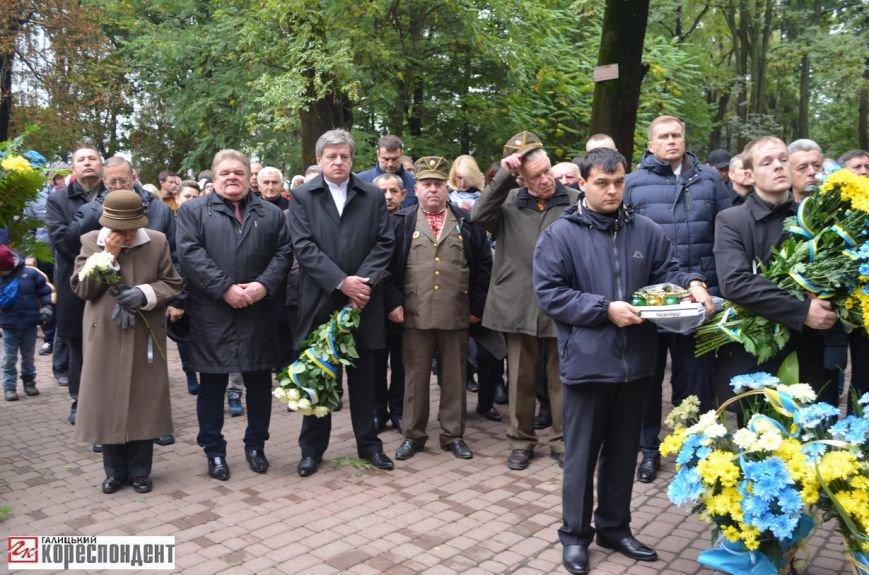 В Івано-Франківську освятили пам'ятник убитому на Майдані Роману Гурику (ФОТО), фото-6