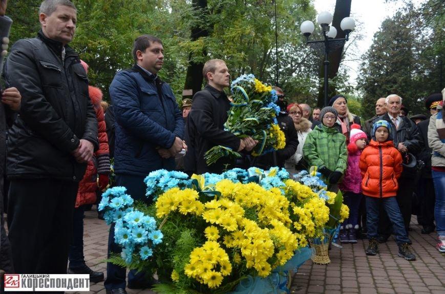 В Івано-Франківську освятили пам'ятник убитому на Майдані Роману Гурику (ФОТО), фото-2