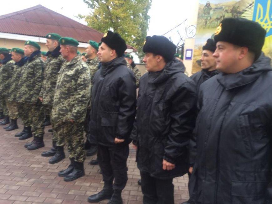 Пограничники подарили Марине Порошенко картину, которую вывезли из Керчи (ФОТО,Видео) (фото) - фото 1