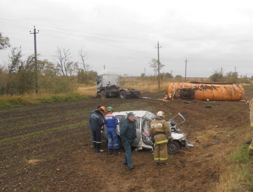 ДТП с трагическим исходом произошло в Сальском районе (фото) - фото 1