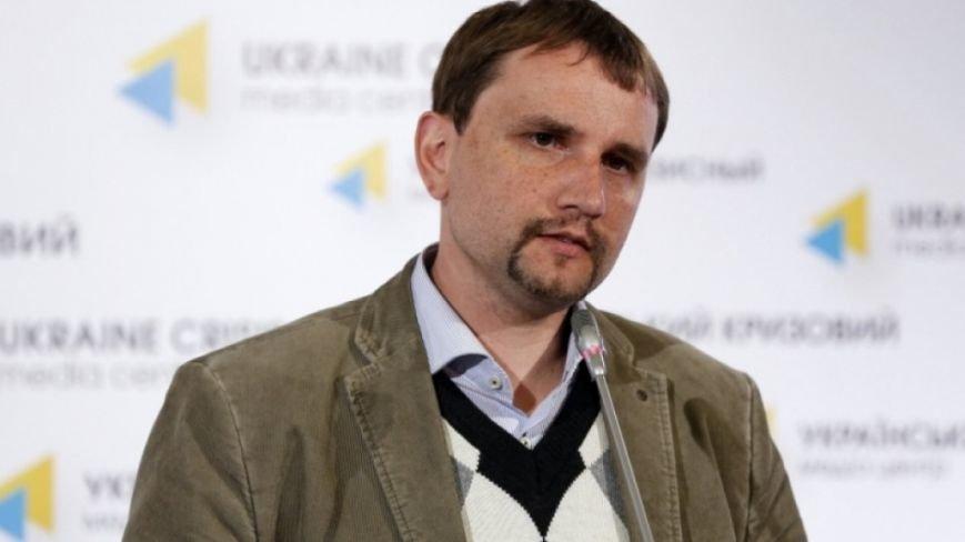 Володимир В'ятрович, один з журі конкурсу (фото – ukrnationalism.com)