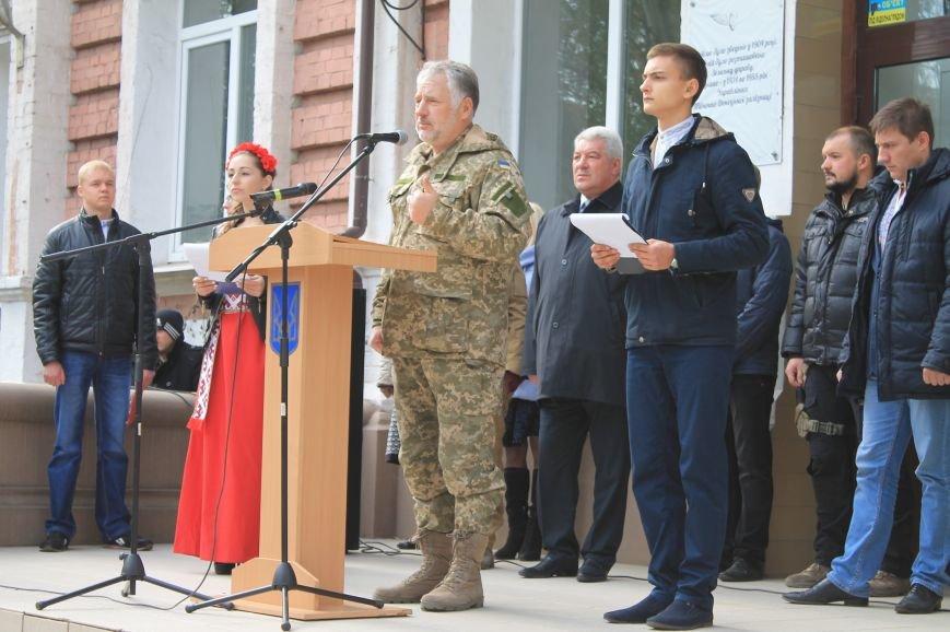 В Артемовске-Бахмуте открыли мемориальную доску, фото-2