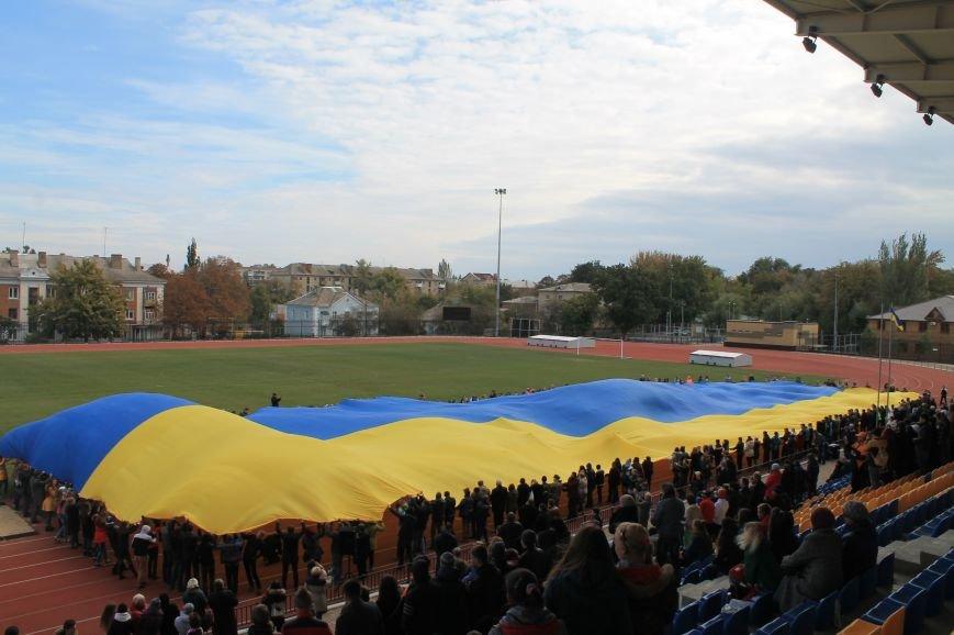 В Артемовске-Бахмуте развернули один из самых больших флагов Украины (ФОТО), фото-3
