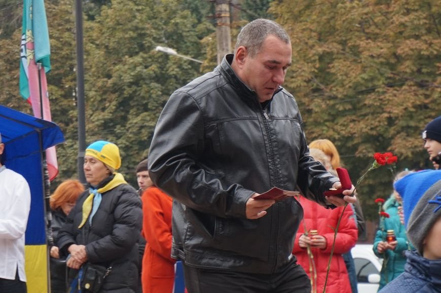 В День защитника Украины награды погибших криворожан получили их родные и близкие (ФОТО, СПИСОК) (фото) - фото 1