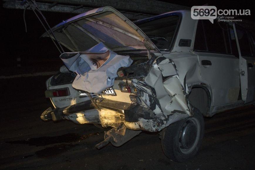 В Днепродзержинске произошло ДТП на мостовой развязке около проспекта Юбилейного (фото) - фото 2