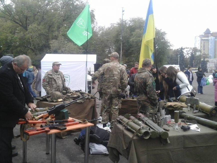 От казацкой закалки до шествия и пикета горотдела милиции: в Павлограде отметили День защитника Украины, фото-3