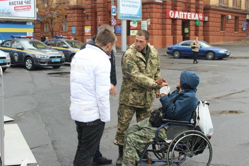 На праздновании Дня защитника Украины в Днепропетровске угощали бесплатной кашей (ФОТО), фото-4