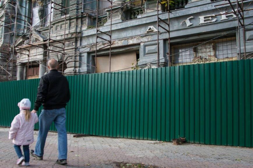Ветер обнажил разрушающийся дом Руссова (ФОТО) (фото) - фото 1