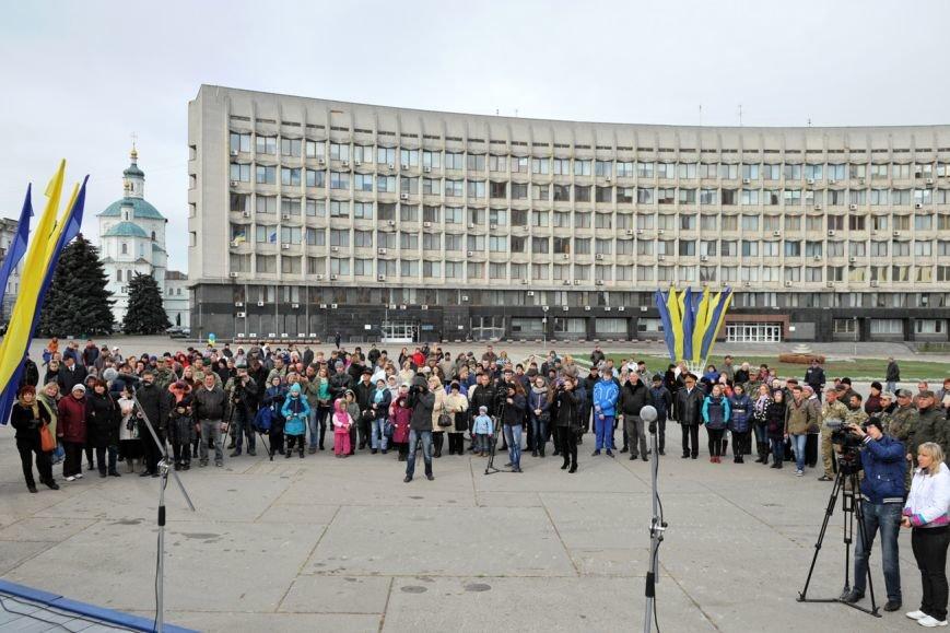 В Сумах отметили День защитника Украины (ФОТО), фото-4